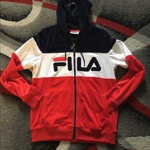 FILA Velour Sweater
